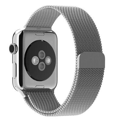 For Apple Watch Series 5 4 40mm 44mm Magnetic Milanese Loop Band Stainless Steel 12
