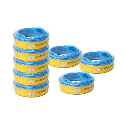 8er. Ersatzkassetten Nachfüllkassetten für Angelcare Windeleimer Systeme 7500mm 7