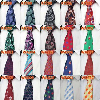 8CM New Ties For Man Silk Ties Floral Striped Dot Jacquard Suit Wedding Party