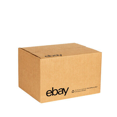 "eBay-Branded Boxes With Black Color Logo 10"" x 8"" x 6"" 3"