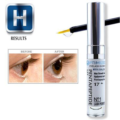 2136622aa8a ... OPTIMIZED Eyelash and Eyebrow Growth Serum with Pentapeptide and  Hyaluronic Acid 4