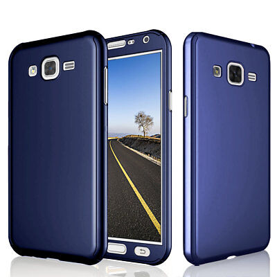 cheaper 4de5d f5f5d FOR SAMSUNG GALAXY J2 Prime 360 Full Hard Case + Tempered Glass Screen  Protector