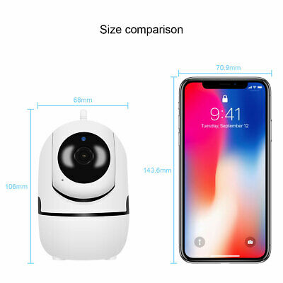 1080P HD Smart Home Wireless Security IP Camera Wi-Fi IR Night Baby Monitor CCTV 12