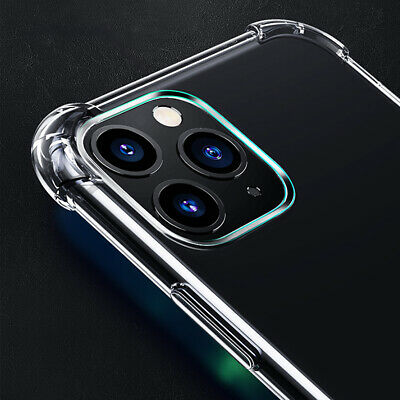 CLEAR Case For iPhone 11 Pro Max XR X XS Max 7 8 Plus Cover Shockproof Silicone 9