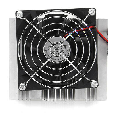 12V 6A Thermoelectric Peltier Refrigeration Cooler Fan Cooling System Kit Useful 4