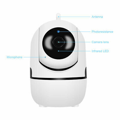 1080P HD Smart Home Wireless Security IP Camera Wi-Fi IR Night Baby Monitor CCTV 10