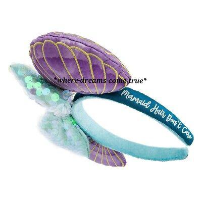 Disney Parks Ariel Ear Seashell Headband - The Little Mermaid 30th Anniversary! 4