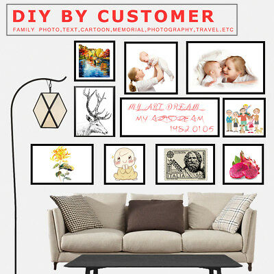 Wall Decor Custom Poster Print Your Photo Canvas Art Posters Home Room DIY Gifts 6