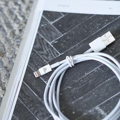 RAMPOW 1m Lightning Kabel MFI USB Schnell Ladekabel für Original iPhone 8 X iPad 3