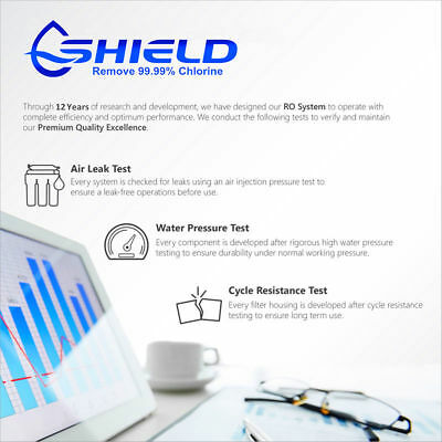 5 Stage Undersink Alkaline Reverse Osmosis Water Filter System 150G RO Membrane 4