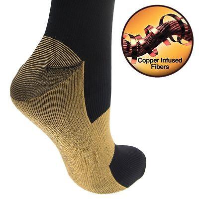 6 Pairs Compression Socks 20-30mmHg Graduated Men Women Sport Socks S-XXL 11