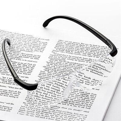 160% Vergrößerungsbrille Lupenbrille Zauberbrille Brille Lupe Vergrößerung Etui 3
