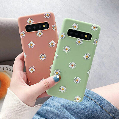 For Samsung Galaxy Note 10 Plus S10 Plus S10e Flower Clear Silicone Case Cover 6