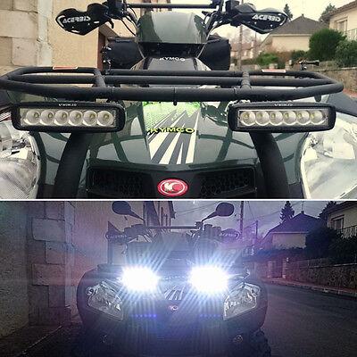 WOW 18W lED phare de travail feux spot light bar offroad aTV 4 x