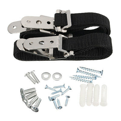2Pcs Anti Tip Secure TV Furniture Fix Safety Anchor Straps Baby Child 8