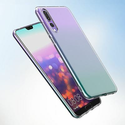 Shockproof Silicone Protective Clear Gel Cover Case For Huawei P20 Pro P Smart 9