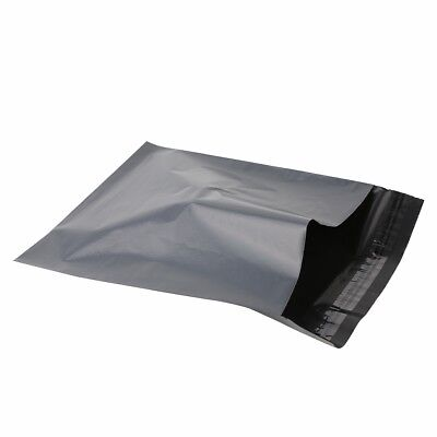 Strong GREY Postage Mailing Plastic Self Seal Polythene Bags - All Sizes 2