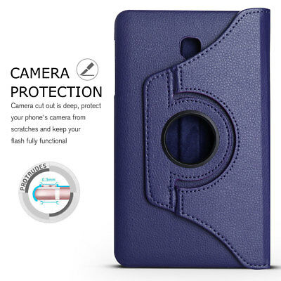Folio Rotating Leather Case Cover For Samsung Galaxy Tab A 8.0 SM-T380 T387 T350 5