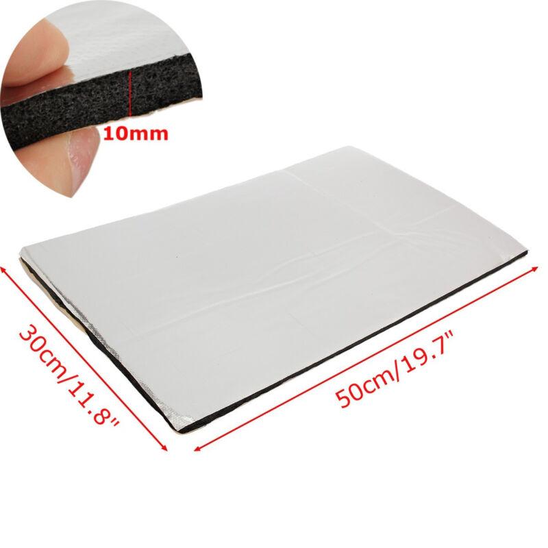 50x30CM Car Heat Insulation Shield Noise Deadening Sound Proofing Foam Deadener 10