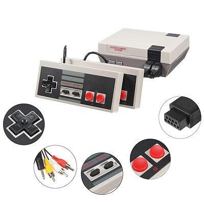 Classic Retro TV Game Console NES 8Bit  Classic 600 Built-in Games 2 Controller 8