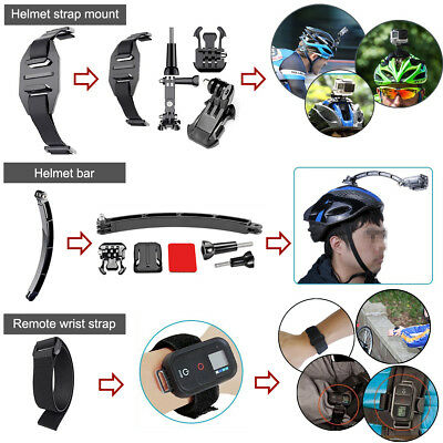 GoPro Accessories Kit Action Camera Accessory set Bundle Chest Strap Head Mount 11