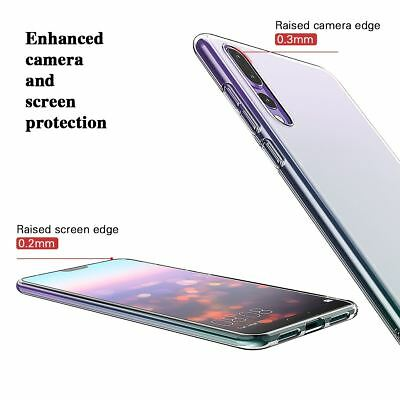 Shockproof Silicone Protective Clear Gel Cover Case For Huawei P20 Pro P Smart 5