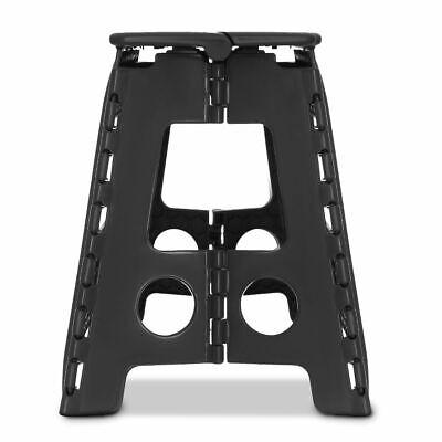 Multi Purpose Plastic Folding Step Stool Home Kitchen Easy Storage Foldable Seat 10