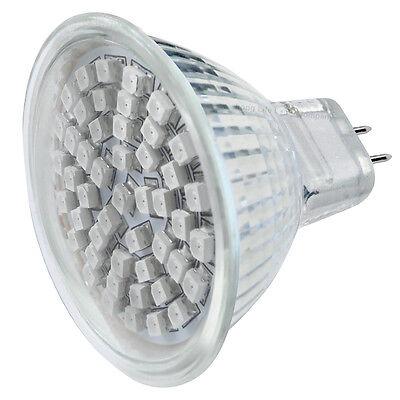 X 12v LED Mr16 Blue 3w Low Voltage Spot