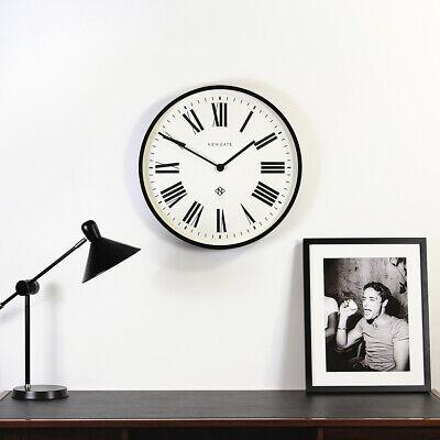 NEWGATE® CLOCKS Extra Large 53cm Black Roman Numeral Round Analogue Wall Clock 6