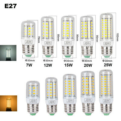 E27 E14 B22 G9 LED Maïs Ampoule 5W 8W 15W 20W 25W SMD5730 Blanc Chaud/Froid 220V 3