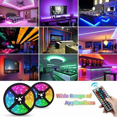 5050 Rgb Led Strip Lights Color Changing Tape Under Cabinet Lighting Waterproof 4