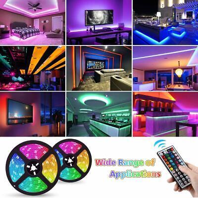 5050 Rgb Led Strip Lights Colour Changing Tape Under Cabinet Kitchen Lighting 5