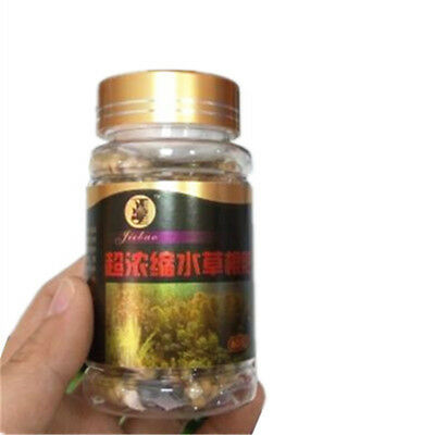 Aquarium Plant Grass Fertilizer Root Tab Capsules With Bottle 60 Capsules