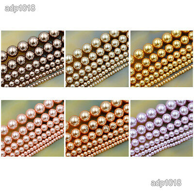 Wholesale Top Quality Czech Glass Pearl Round Beads 16'' 3mm 4mm 6mm 8mm 10mm 4