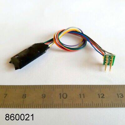 Decodeur 8 poles NEM 652 DCC moteur + 4 AUX Decoder digital LaisDcc 860021 2