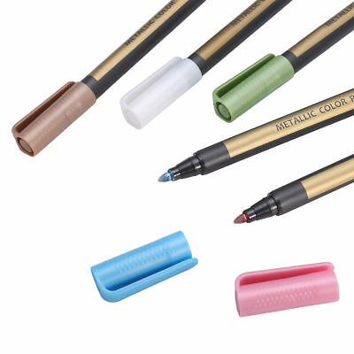 10 Metallic Pens Paint Marker For Paper Gift Card Glass Wood Metal Fabric Rock 11