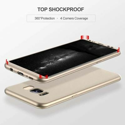 New ShockProof Hybrid 360 TPU Thin Case Cover For Samsung Galaxy S7 edge S8 S9 + 5