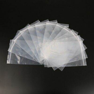 Clear Grip Lock Plastic Resealable Self Seal Polythene Bags - All Sizes 3
