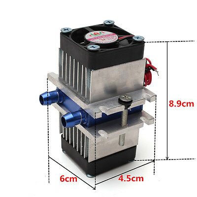 DIY Kits Thermoelectric Peltier Refrigeration Cooling System +Fan 2