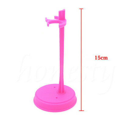 2~10 Pcs Doll Stand Display Holder Accessories Plastic For Barbie Dolls 3