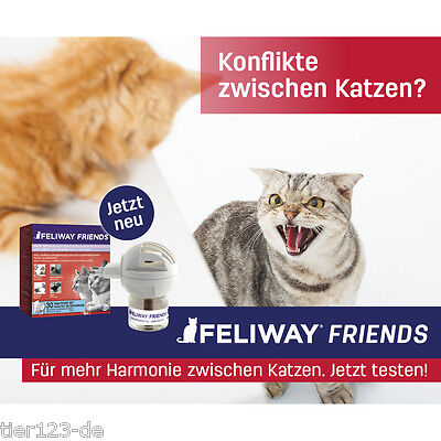 Feliway FRIENDS Starter- Zerstäuber Set (Stecker + 48ml Flacon) 5