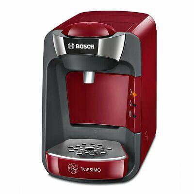 Bosch TAS3203 Tassimo Suny  Cafetera multibebidas automática de cápsulas rojo 4