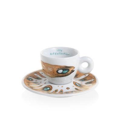 ILLY Collection 2018 MAX PETRONE 6 Tazzine Espresso Tazze Numerate e Firmate 4