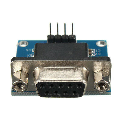 RS232 To TTL Converter Module Serial Module DB9 Connector 3.3V-5.5V Arduino  RAC