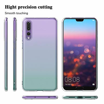 Shockproof Silicone Protective Clear Gel Cover Case For Huawei P20 Pro P Smart 10