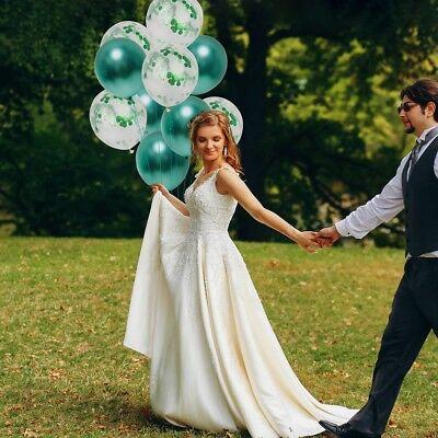 10 Pièces / Lot Chrome Confettis Ballons Bouquet Fête D'Anniversaire Décor 5