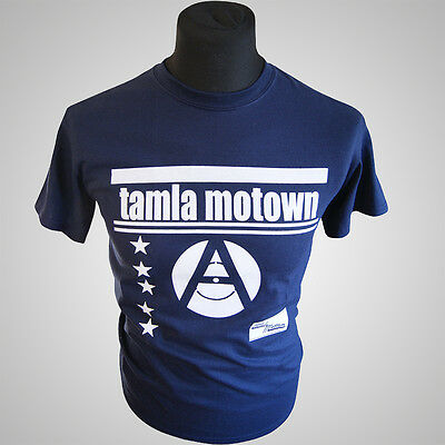 Tamla Motown Retro Music T Shirt Vintage Hipster Cool Classic Record Company