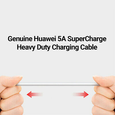 Genuine Huawei P20 P30 Pro Lite Mate Type C USB Fast Charging Charger Cable 5A 5