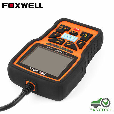 Foxwell NT301 OBD OBD2 Engine Universal Car Code Reader Scanner Diagnostic Tool 5