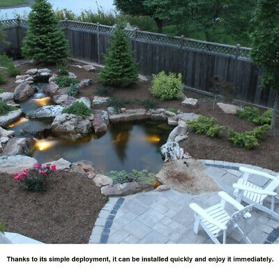 11 Sizes HDPE Fish Pool Pond Liner Gardens Membrane Reinforced Pools Landscaping 2